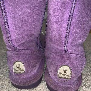BEARPAW boots purple
